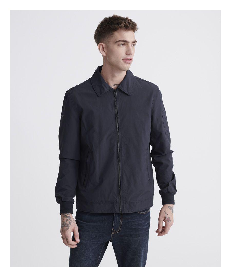 Image for Superdry Collared Harrington Jacket