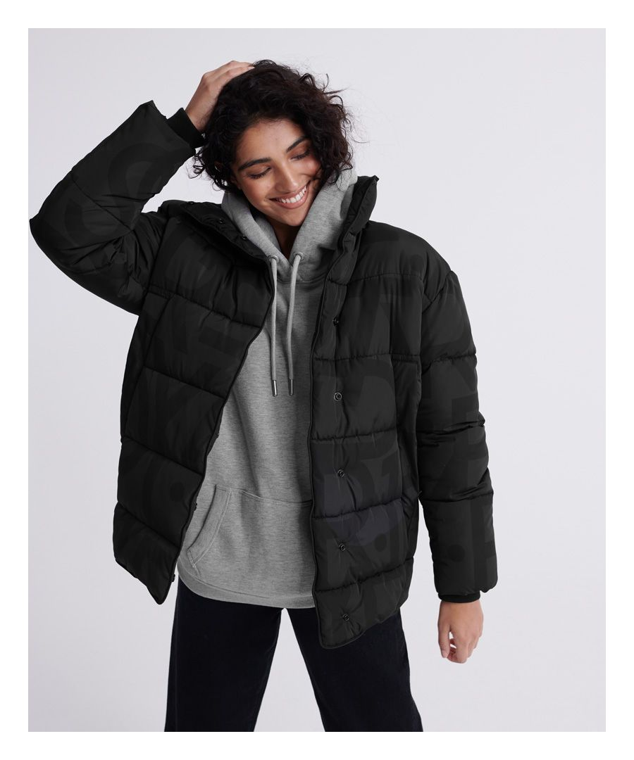 Image for Superdry Edit All Over Print Ume Padded Jacket