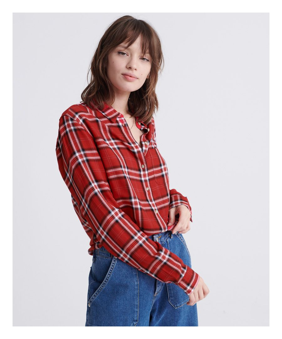 Image for Superdry Lightweight Check Shirt