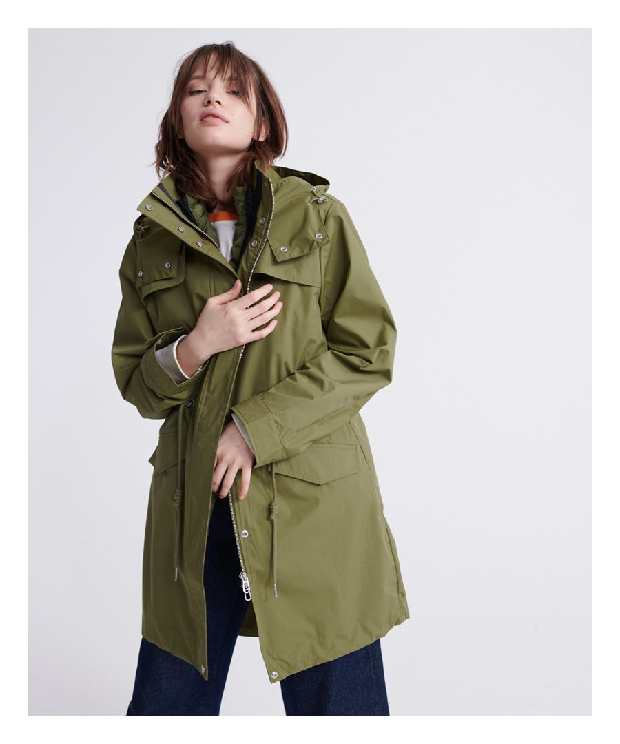 Image for Superdry Long Sleeve Essentials Parka Coat