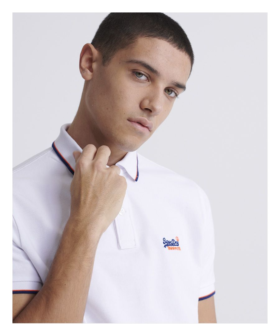 Image for Superdry Poolside Pique Polo Shirt
