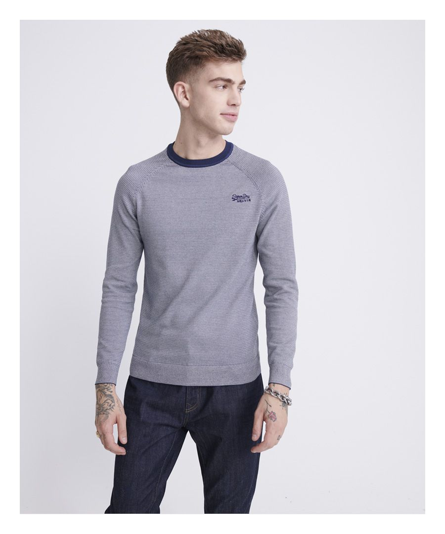 Image for Superdry Orange Label Cotton Jumper