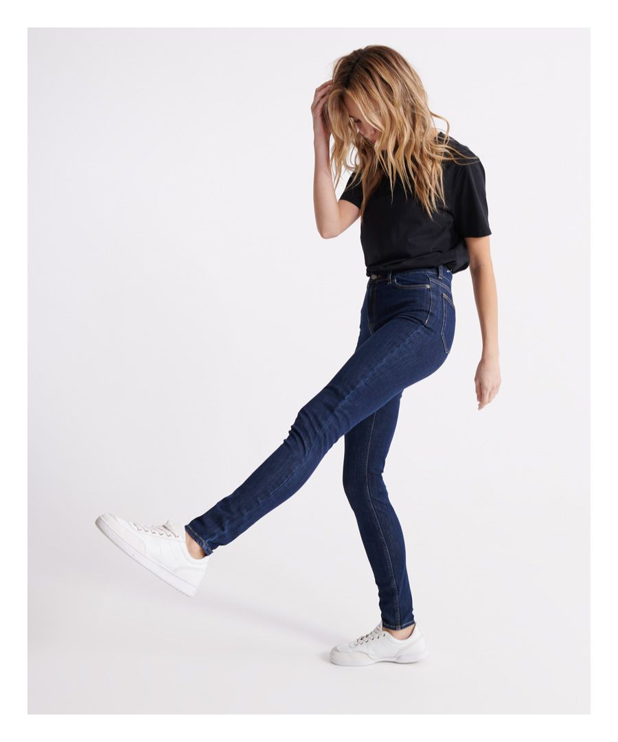 Image for Superdry Superflex- Skinny High Rise