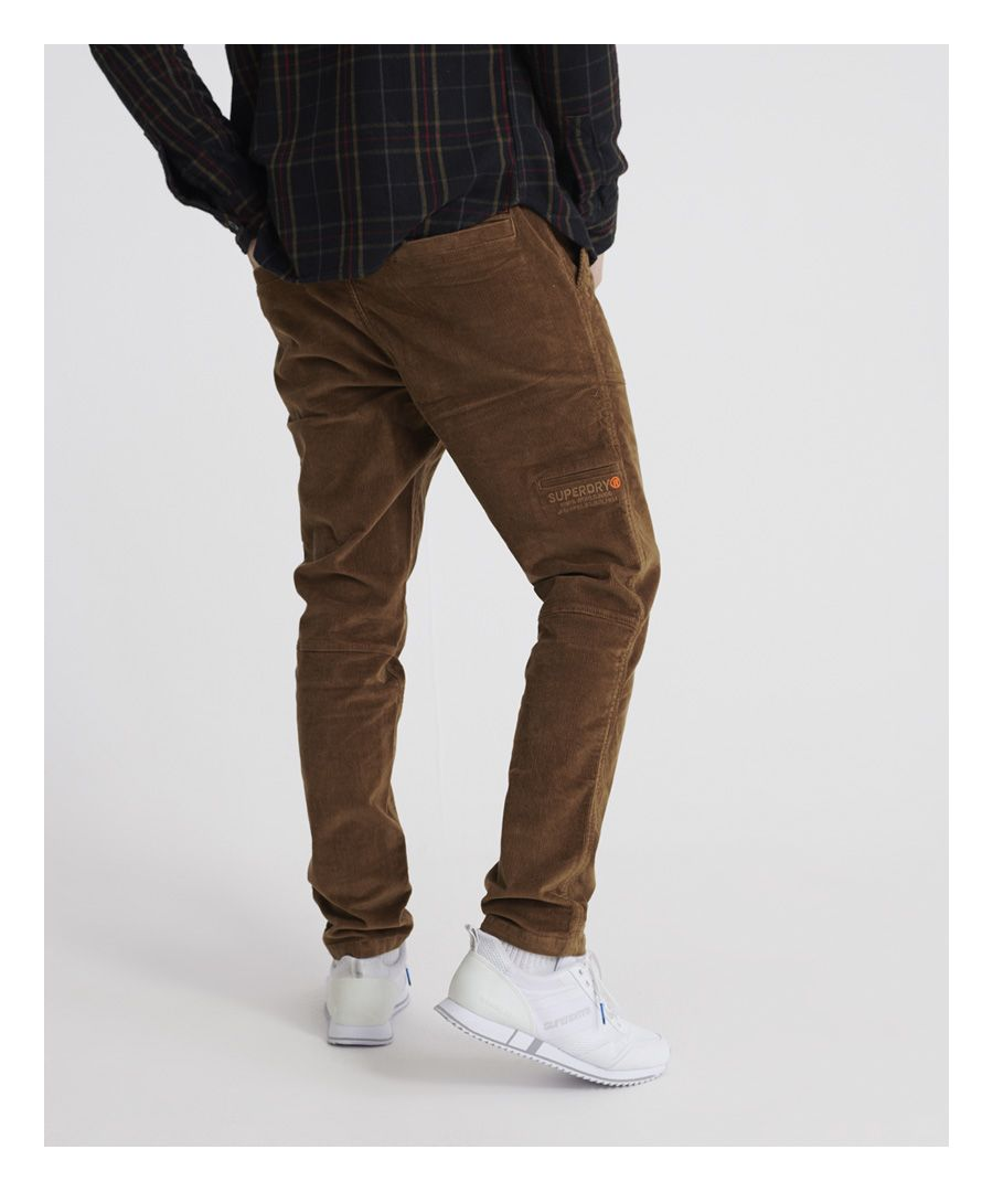 Image for Superdry Cord Utility Trousers