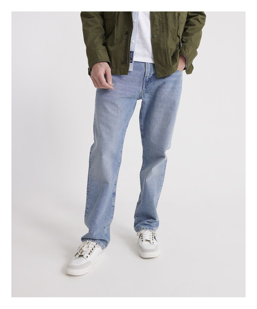 Image for Superdry Ethan Classic Straight Jeans