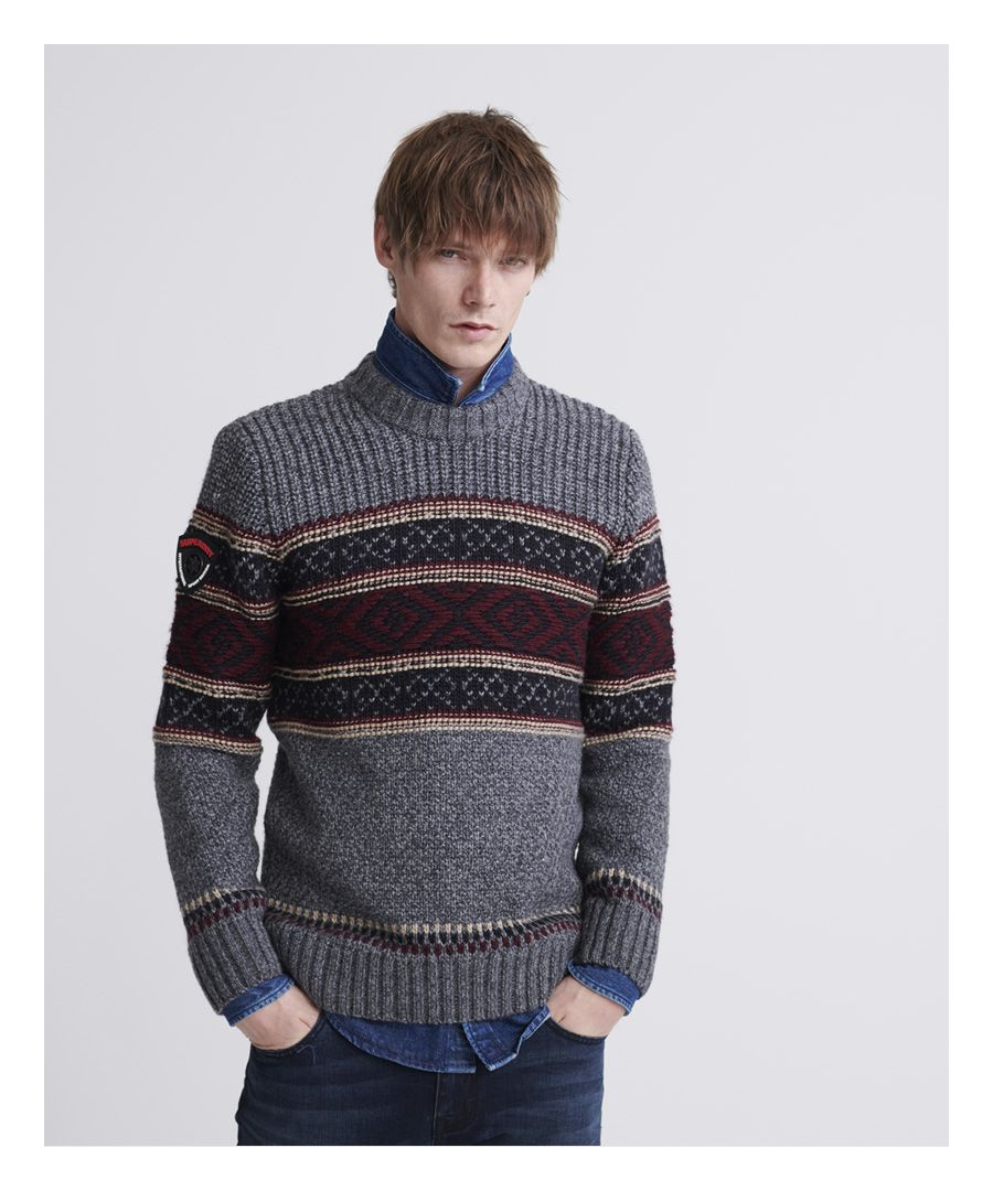 Image for Superdry Ridgewood Crew Jumper