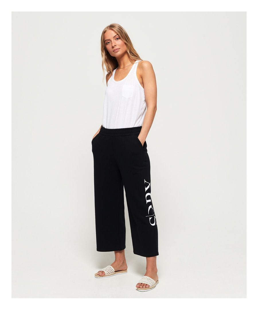 Image for Superdry The Edit Wide Leg Lite Joggers