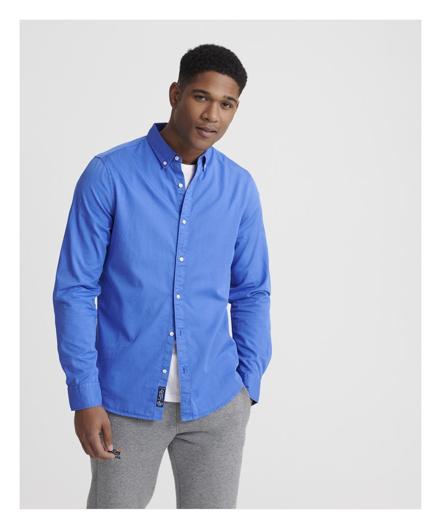 Image for Superdry Classic Twill Lite Long Sleeved Shirt