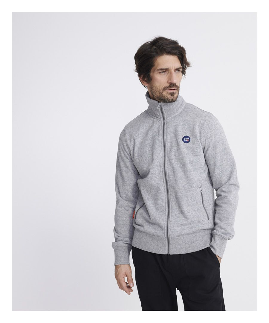 Image for Superdry Collective Loopback Track Top