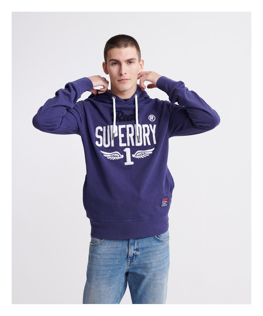 Image for Superdry Super 1 Classic Neon Hoodie