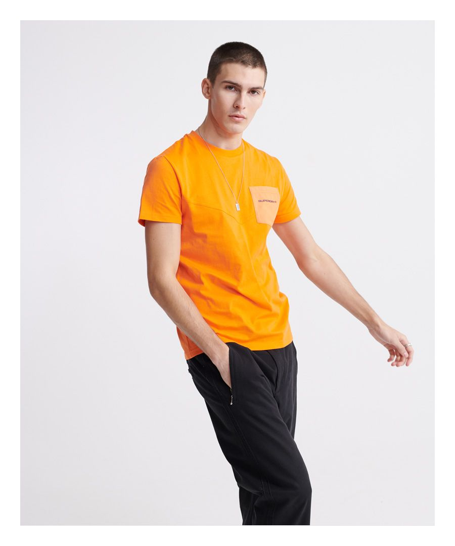 Image for Superdry Urban Tech Nylon Pocket T-Shirt