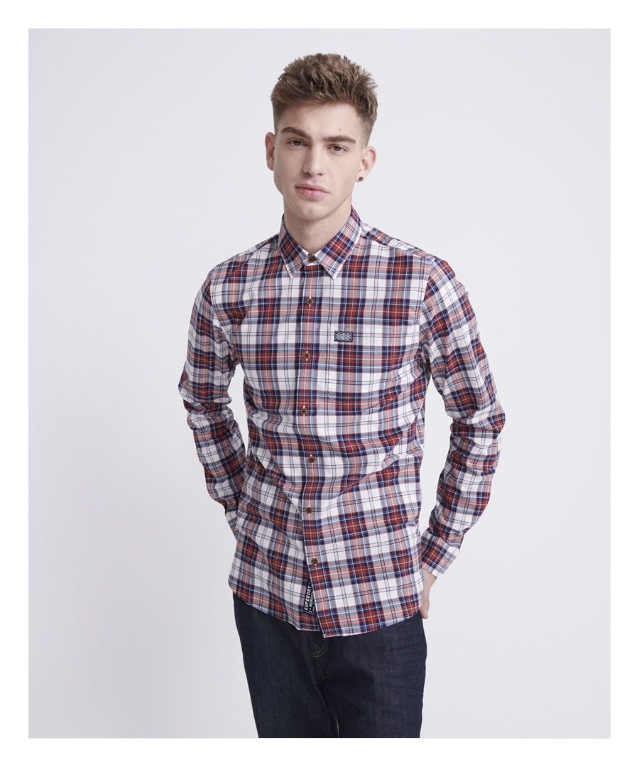 Image for Superdry Workwear Lite Long Sleeve Shirt