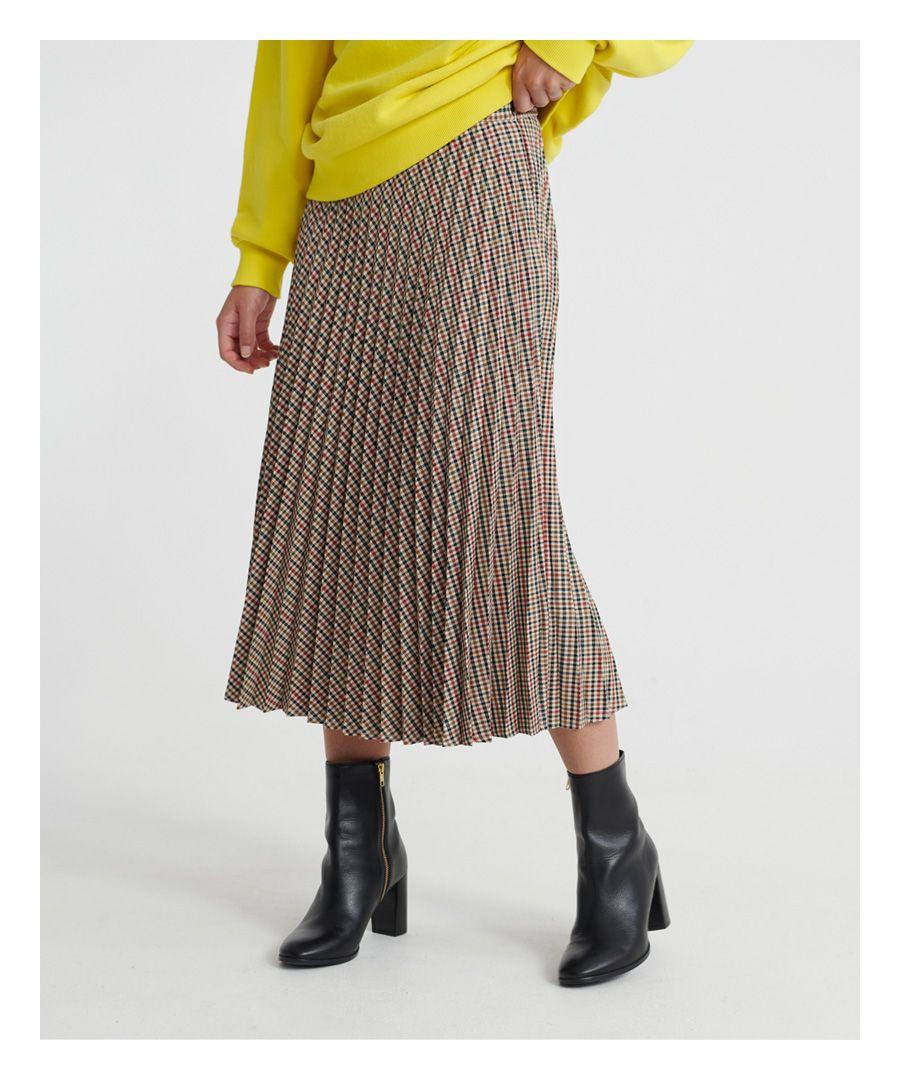 Image for Superdry Parker Check Skirt