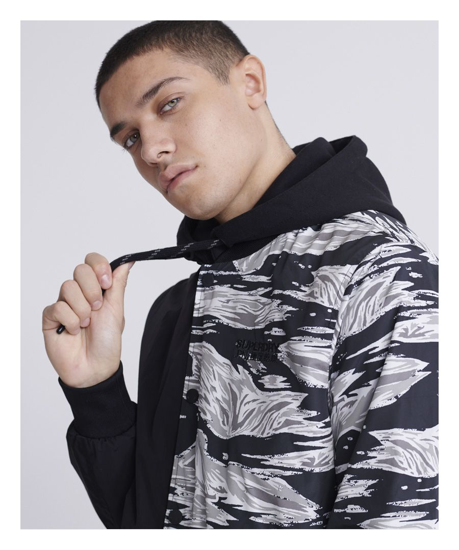 Image for Superdry Hooded Desert Alchemy Bomber Jacket