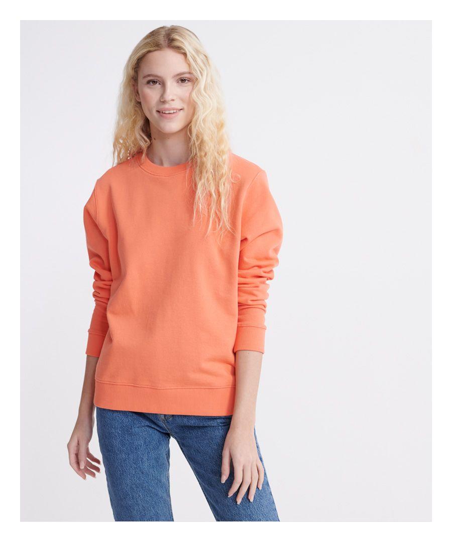 Image for Superdry Organic Cotton Standard Label Loopback Sweatshirt