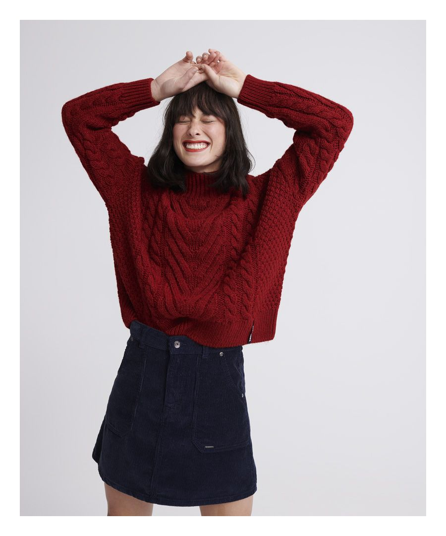 Image for Superdry Dallas Chunky Cable Knit Jumper