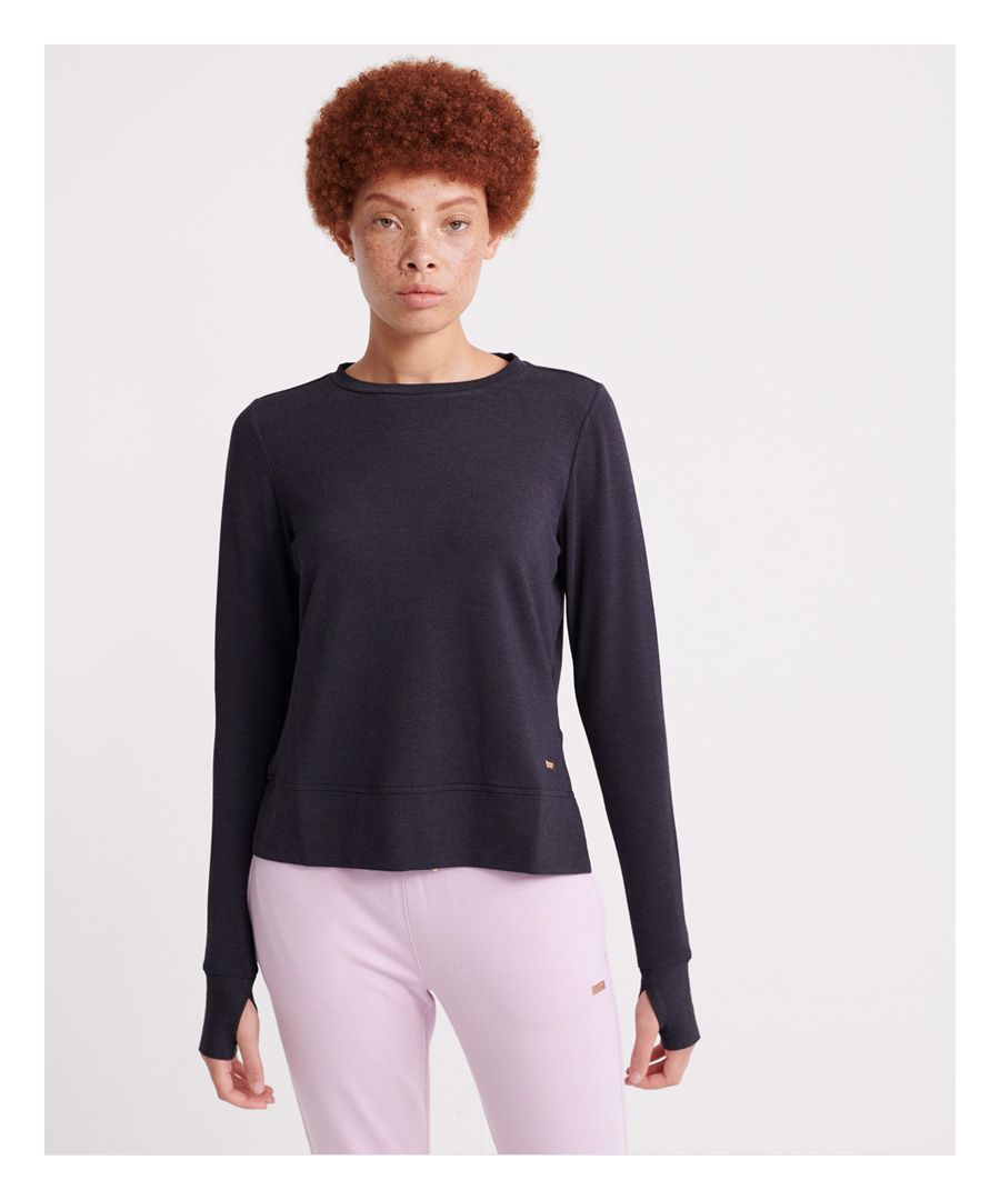 Image for Superdry Active Studio Luxe Crew Sweatshirt