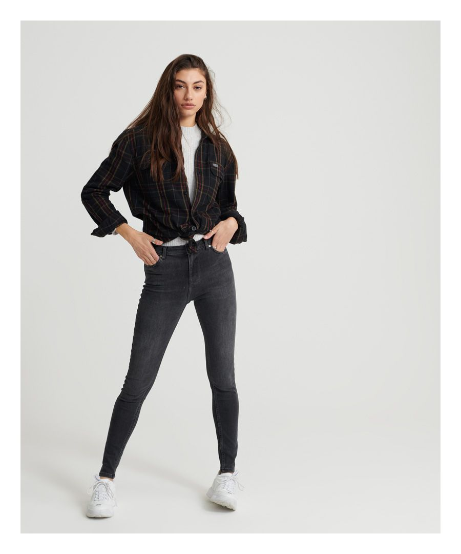 Image for Superdry Superthermo- Skinny High Rise Jeans