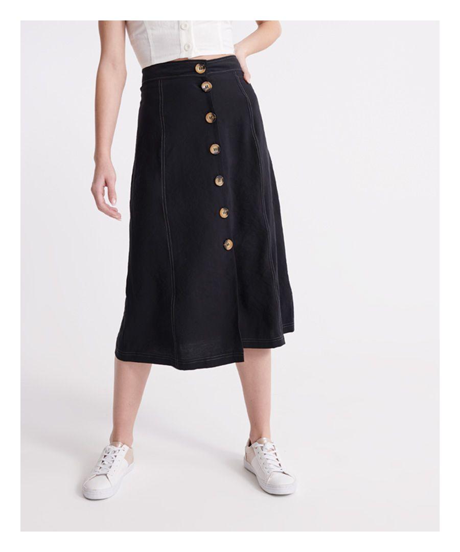 Image for Superdry Valley Midi Skirt