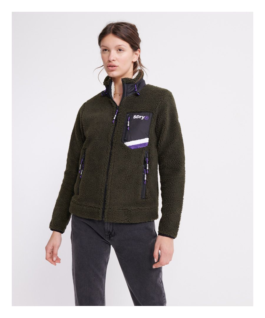 Image for Superdry Celsius Sherpa Track Top