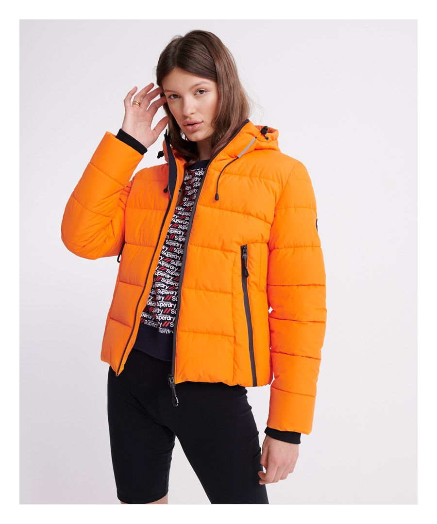 Image for Superdry Spirit Icon Puffer Jacket