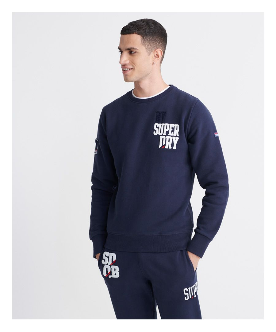 Image for Superdry SDQB Superstack Crew Sweatshirt