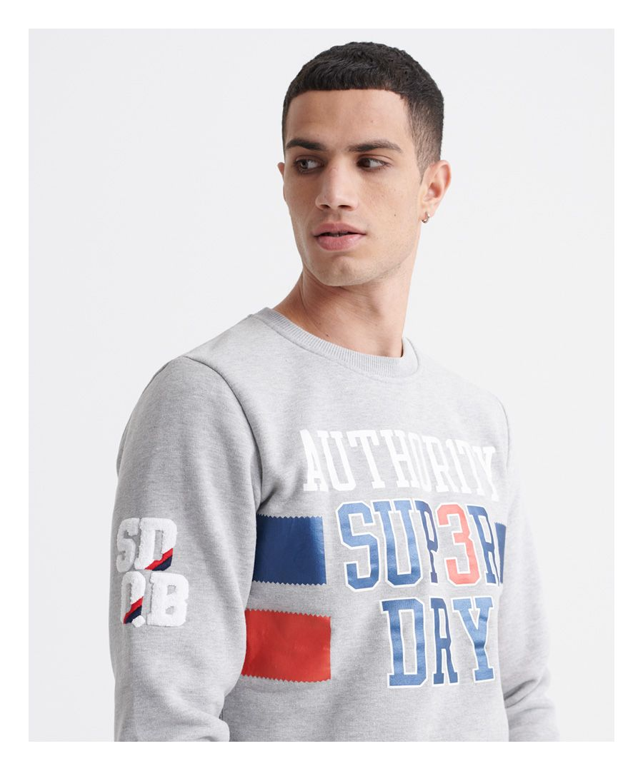 Image for Superdry SDQB Authority Crew Sweatshirt
