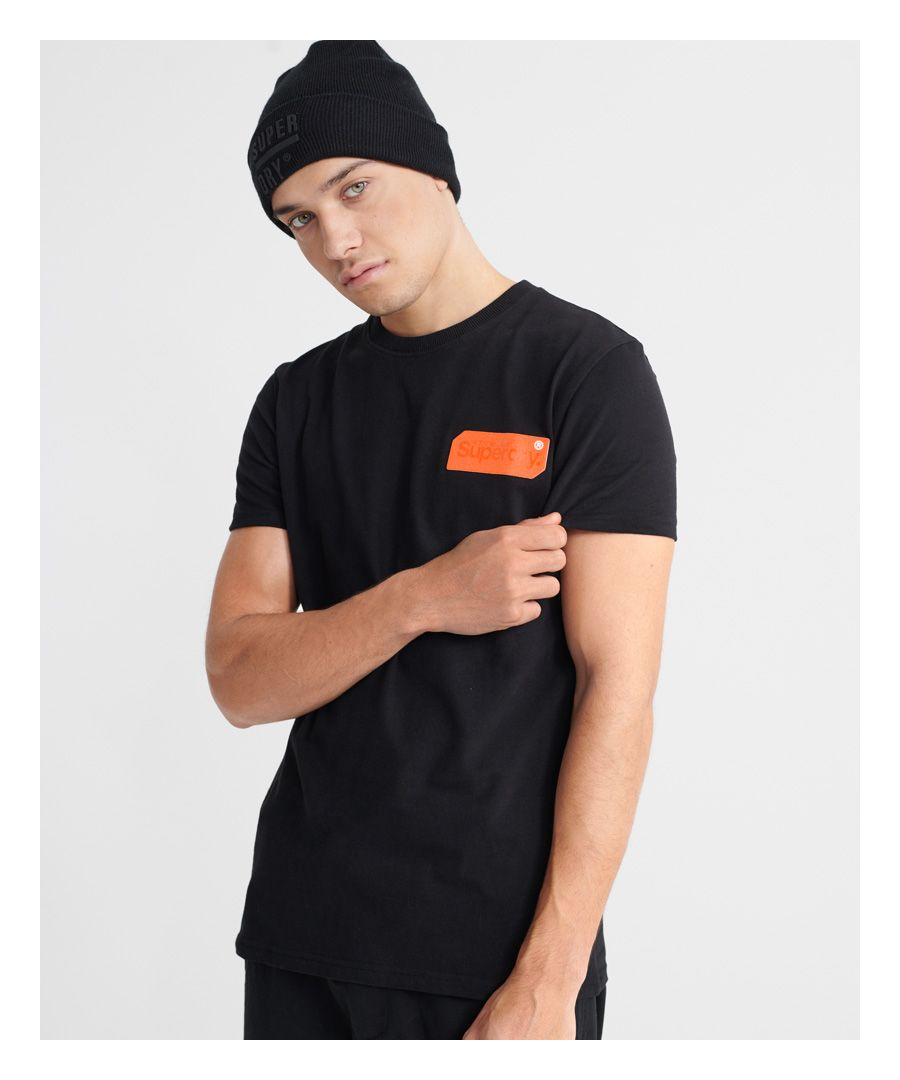 Image for Superdry Core Logo Black Out T-Shirt