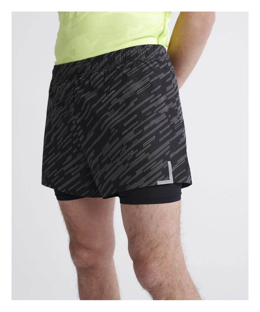 Image for Superdry Training Lightweight Reflective Shorts