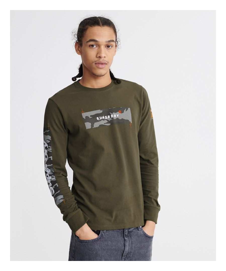 Image for Superdry Chromatic Long Sleeve Top