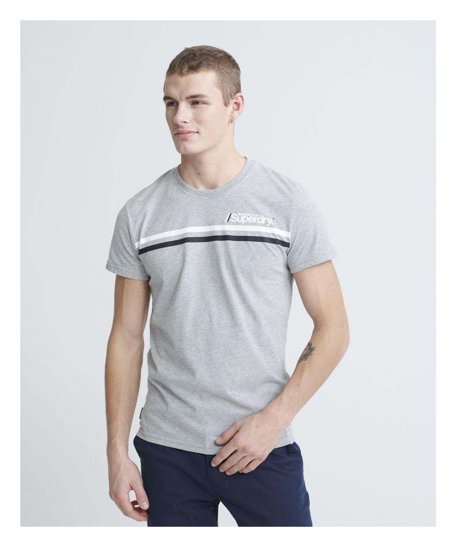 Image for Superdry Core Logo Sport Stripe T-Shirt