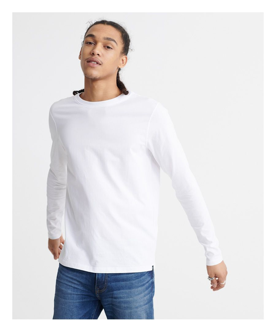 Image for Superdry Organic Cotton Standard Label Long Sleeved Top