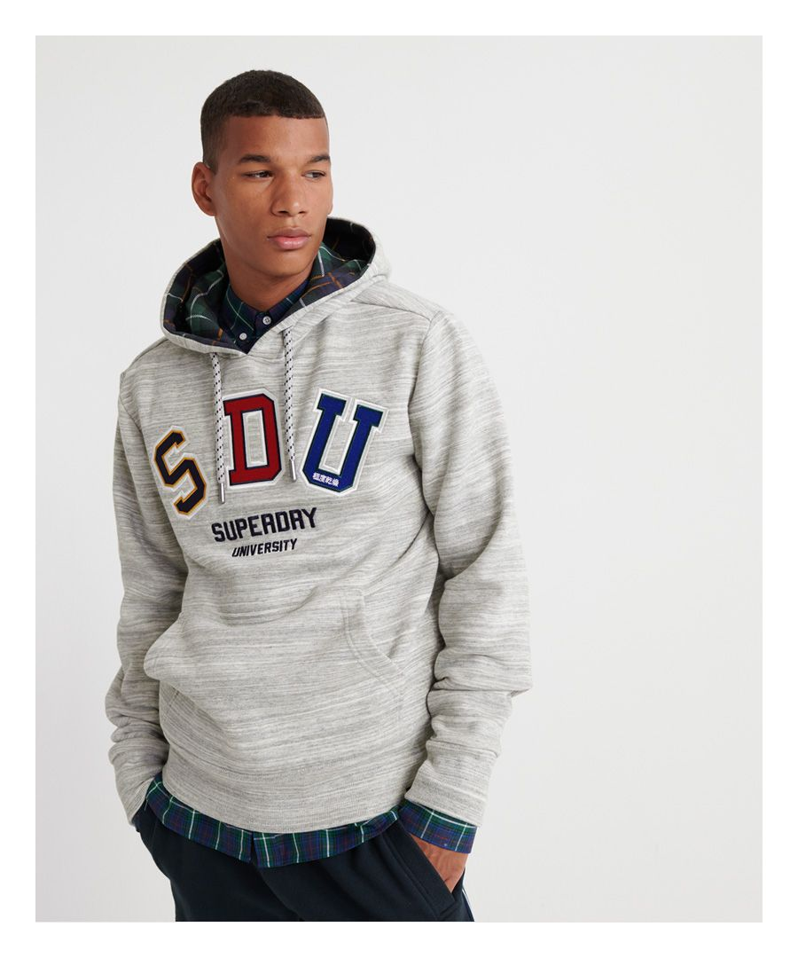 Image for Superdry Crafted Casuals Applique Hoodie