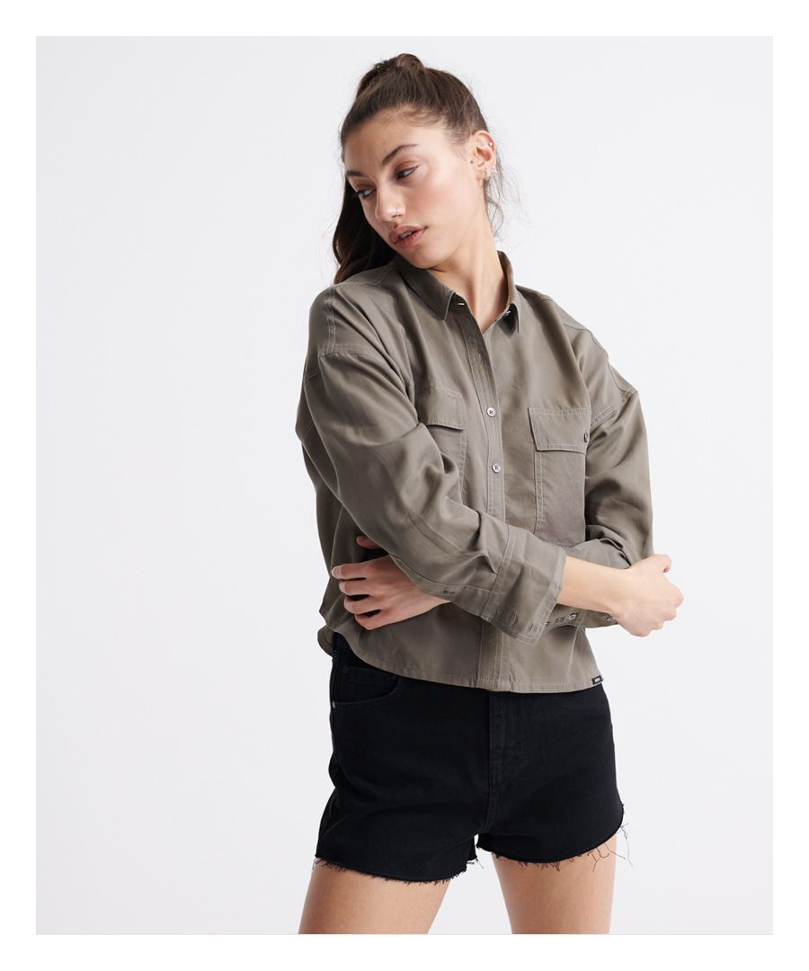 Image for Superdry Desert Oversized Shirt