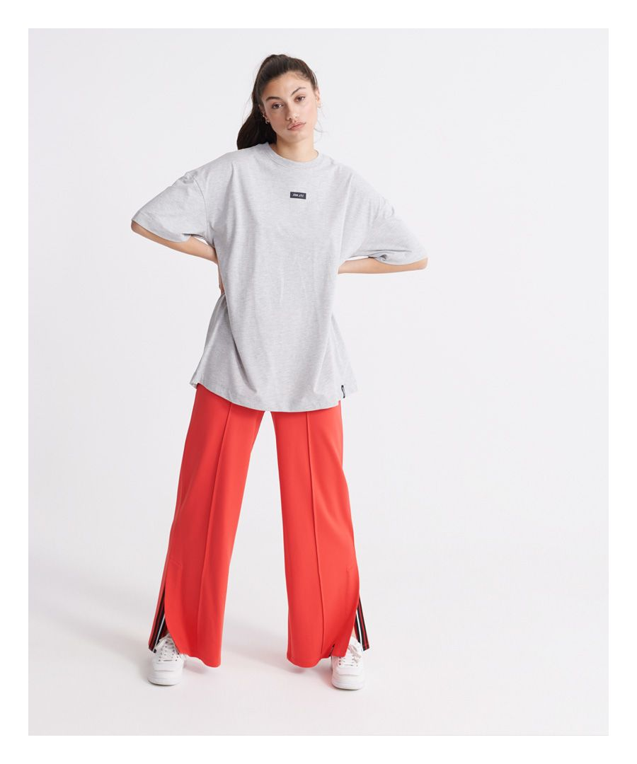 Image for Superdry Edit Wide Leg Loopback Joggers