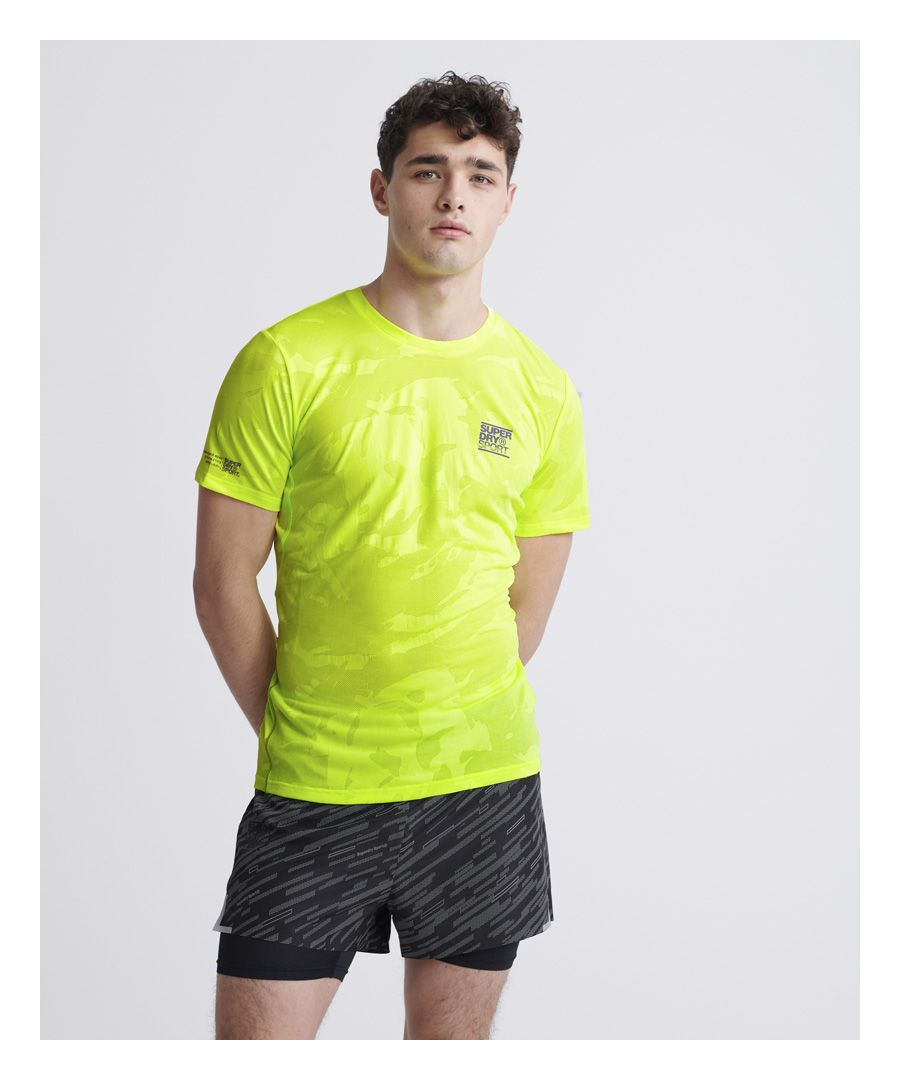 Image for Superdry Training Breathable Camo T-Shirt