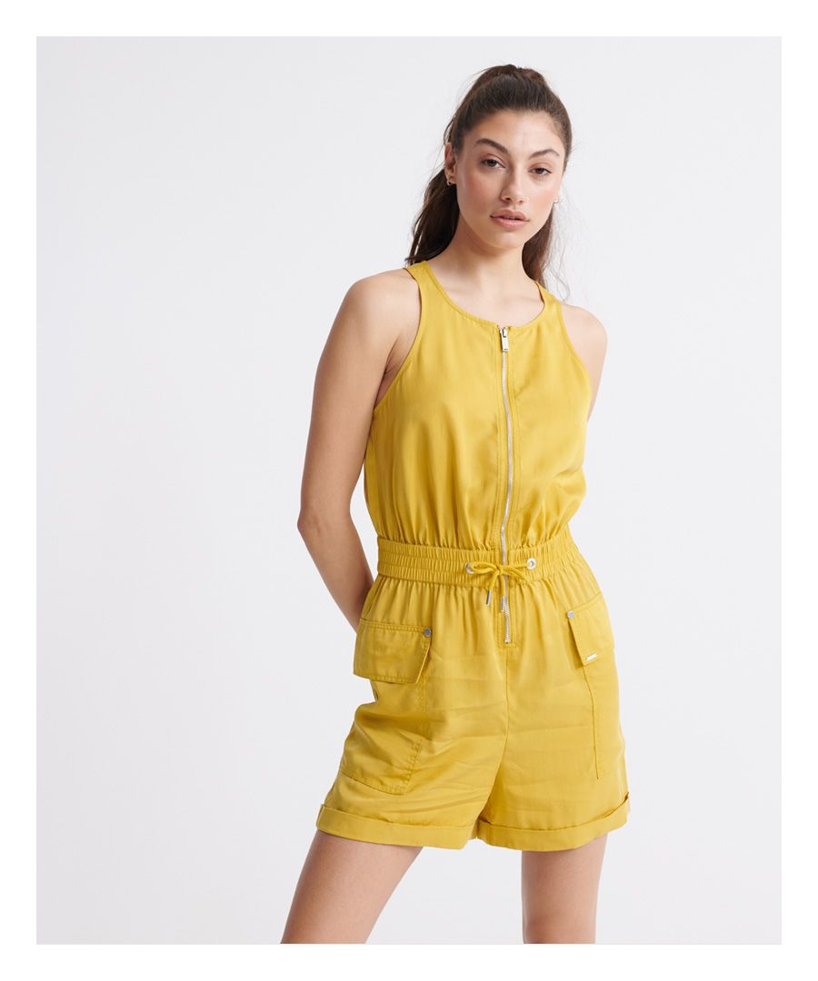 Image for Superdry Nevada Halter Playsuit