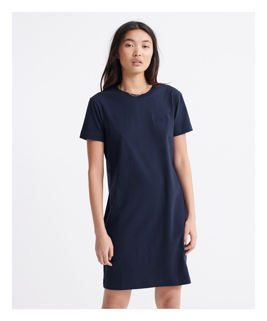 Image for Superdry Organic Cotton Orange Label T-Shirt Dress
