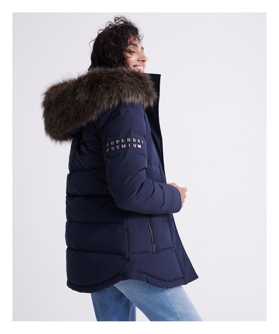 Image for Superdry Premium Down Trophy Jacket