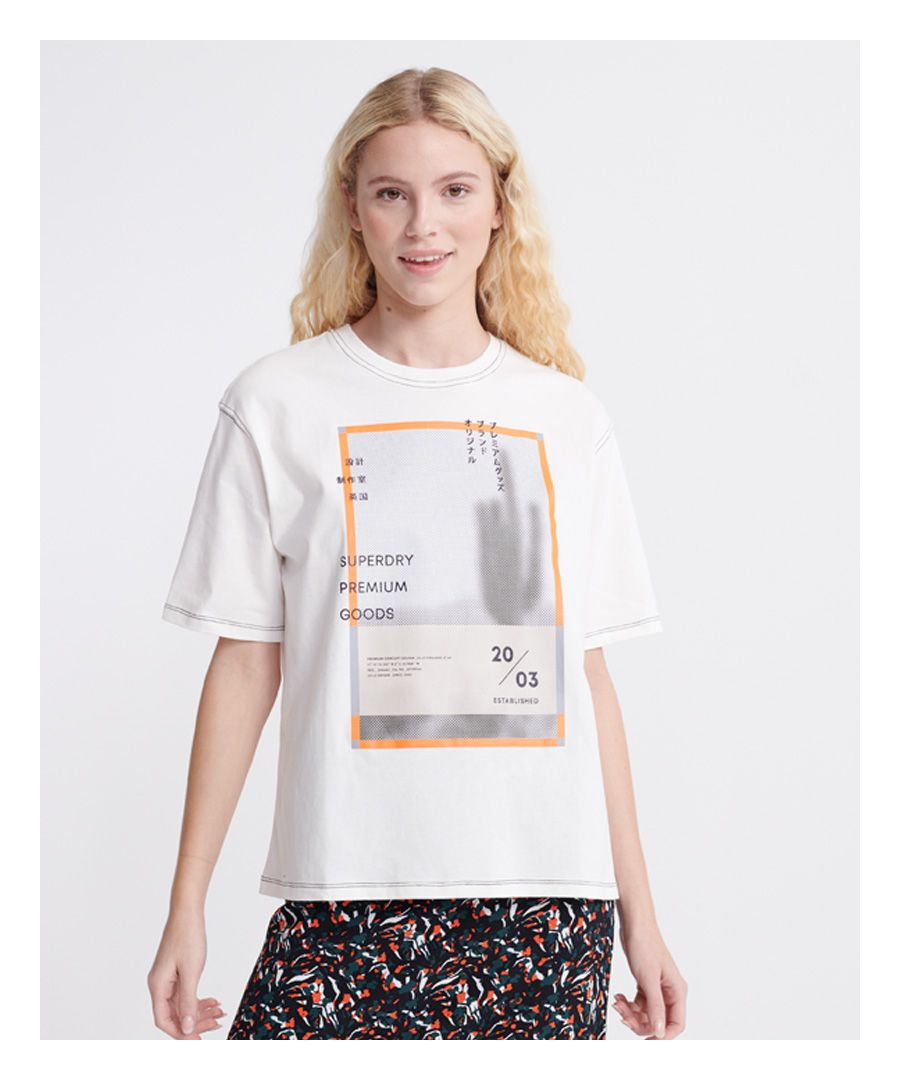 Image for Superdry Alchemy Coded Graphic T-Shirt