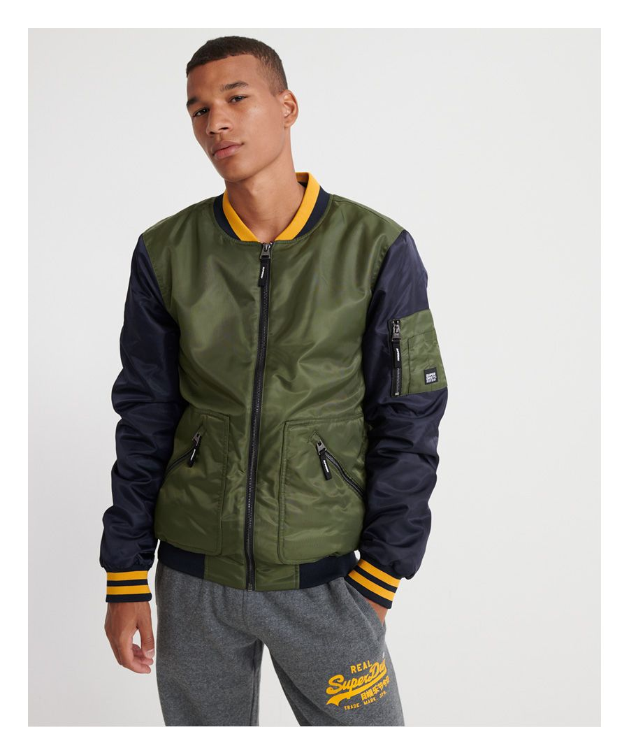 Image for Superdry Flight Bomber Jacket