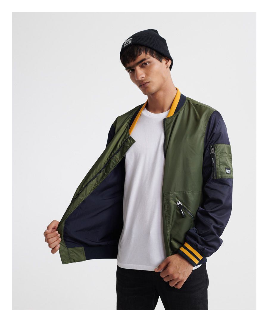 Image for Superdry Flight Light Bomber Jacket