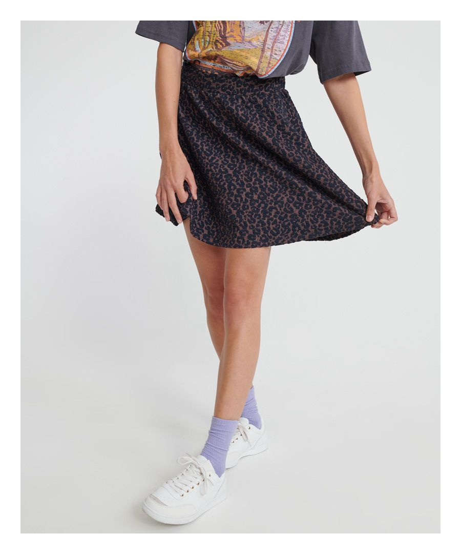 Image for Superdry Jacquard Skater Skirt