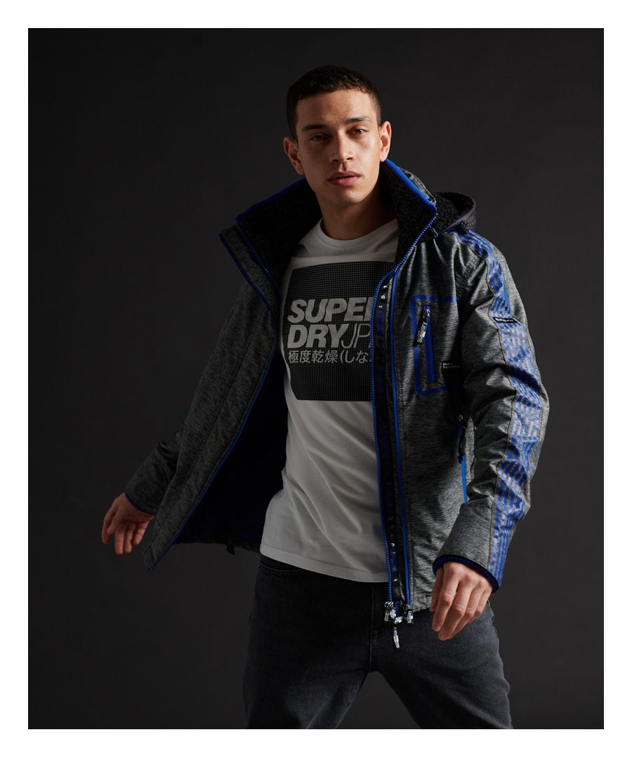 Image for Superdry Limited Edition Hybrid Borg SD-Windcheater Jacket