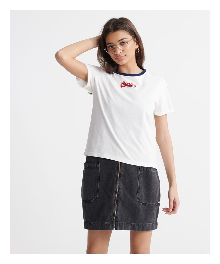 Image for Superdry Vintage Logo Micro Boxy T-Shirt