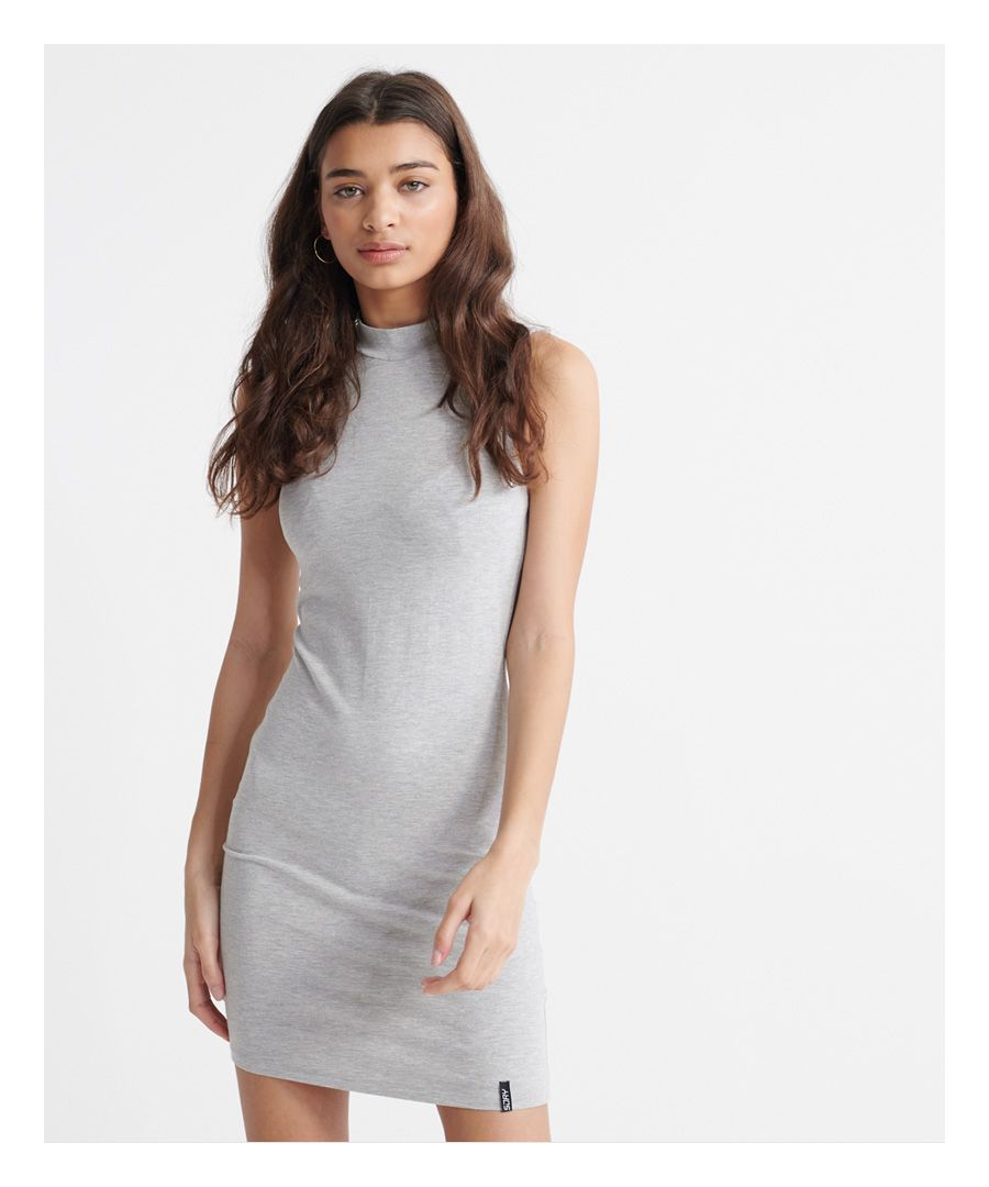 Image for Superdry High Neck Bodycon Dress