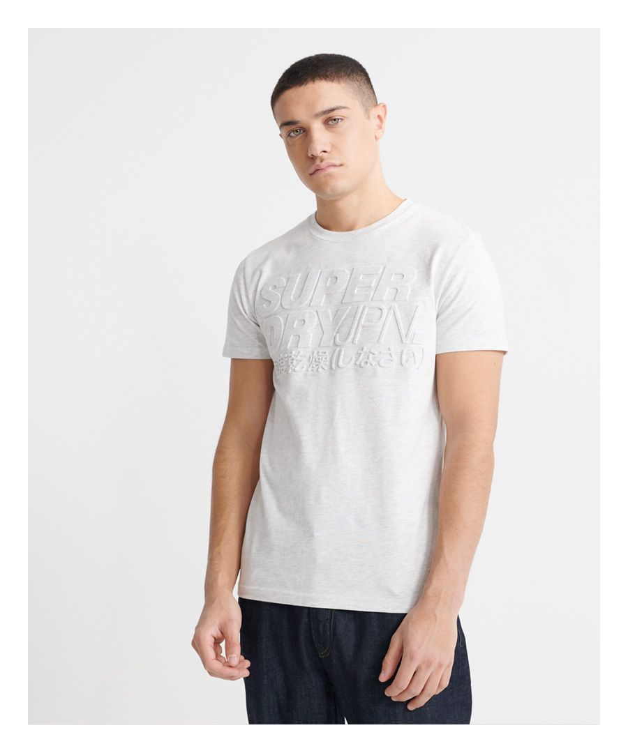 Image for Superdry Embossed Pastel Line T-Shirt