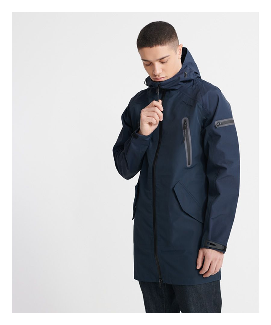 Image for Superdry Hydrotech Waterproof Parka Jacket