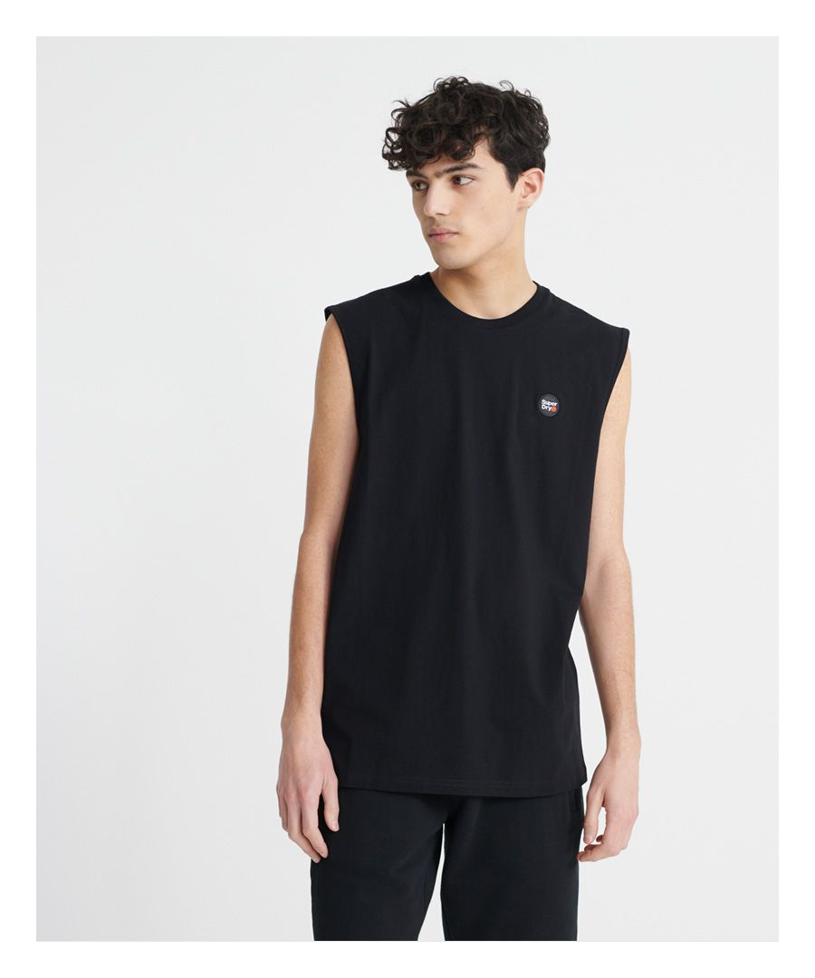 Image for Superdry Organic Cotton Collective Oversized Vest