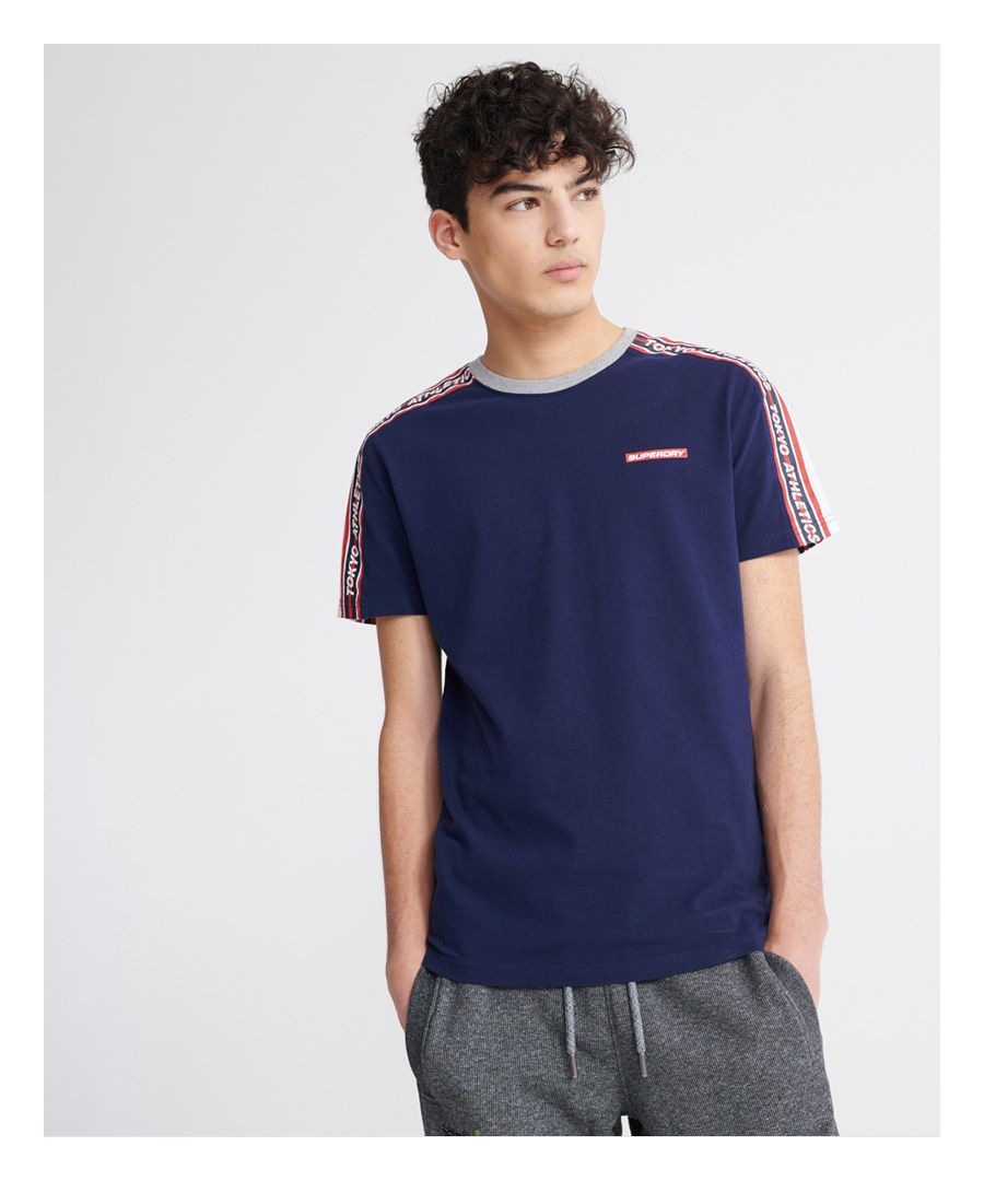 Image for Superdry Trophy Colour block Classic T-Shirt